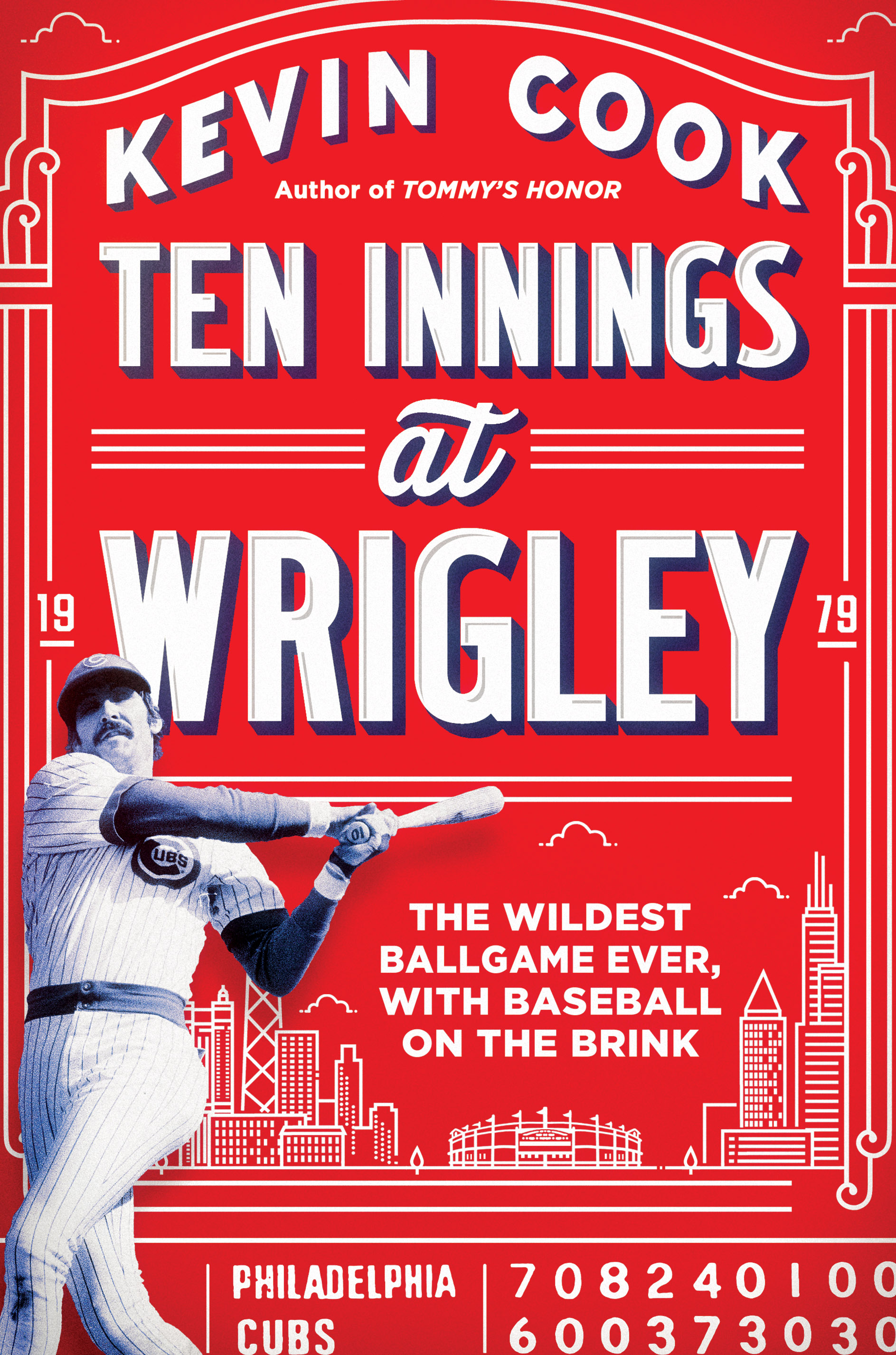 TENN INNINGS AT WRIGLEY by Kevin Cook